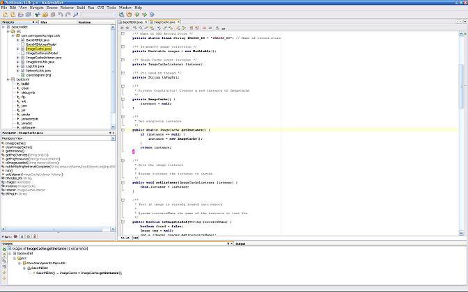 NetBeans 5 Editor
